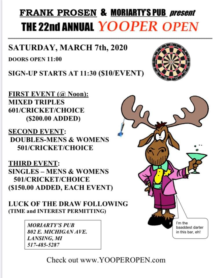 The 22nd Annual Yooper Open