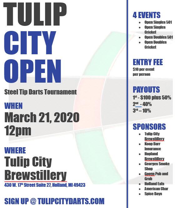 Tulip City Open - 2020
